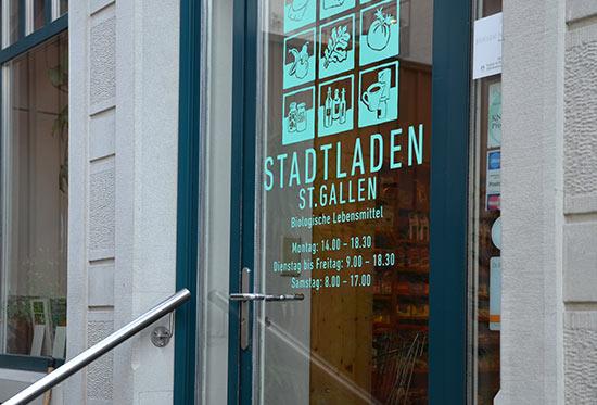 Der Bioladen in St.Gallen – Stadtladen